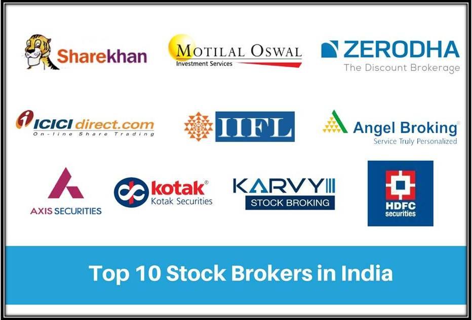Image of top 10 stock broker in india