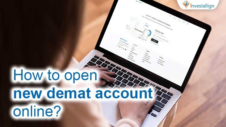 Open New Demat Account Online